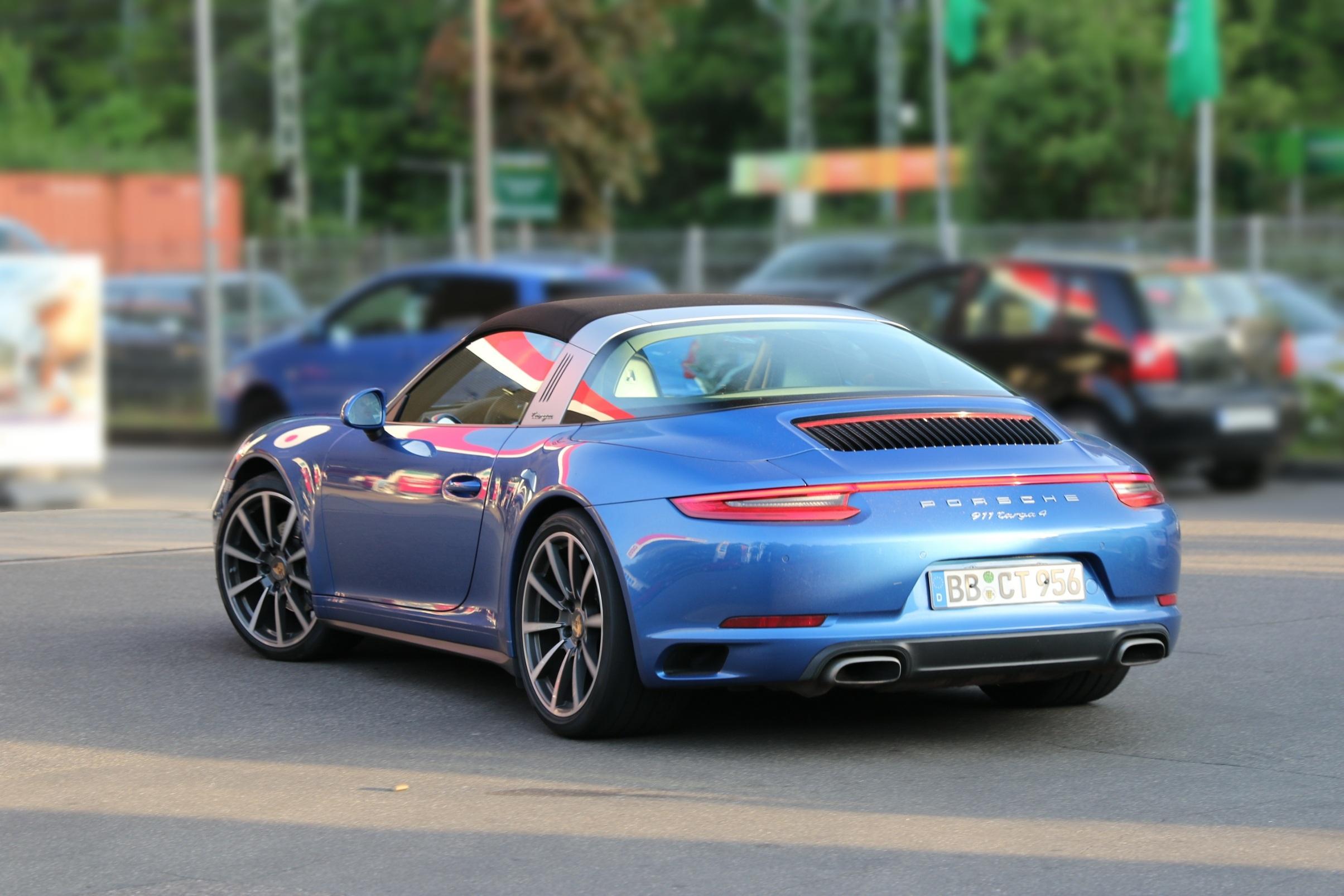 Porsche 911 991 Targa 4 s